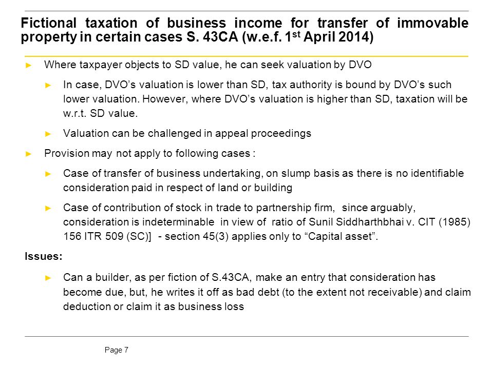 Taxability of inadequate consideration for receipt of immovable property [S. 56(2)(vii)(b)](w.e.f. 1st April 2014